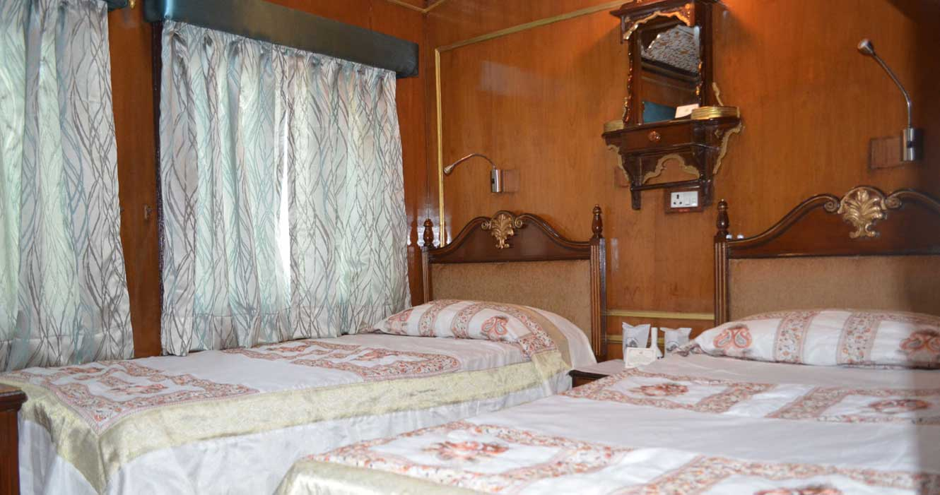 Twin Bedroom, Palace on Wheels