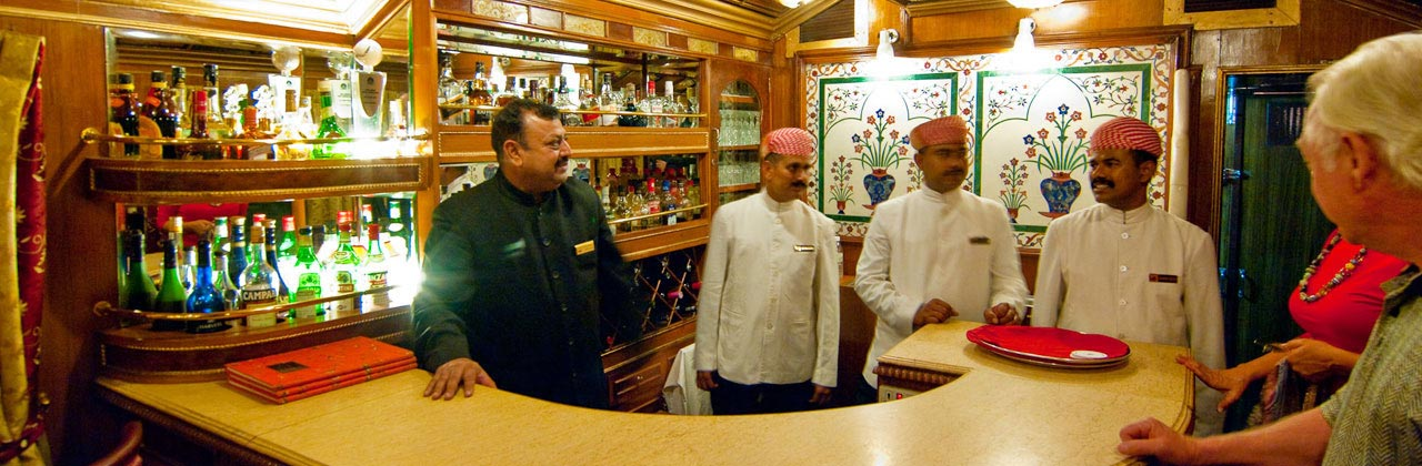 Palace on Wheels Bar